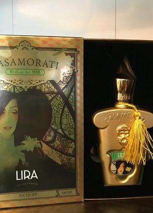 Xerjoff casamorati 1888  lira нишевая парфюмерия