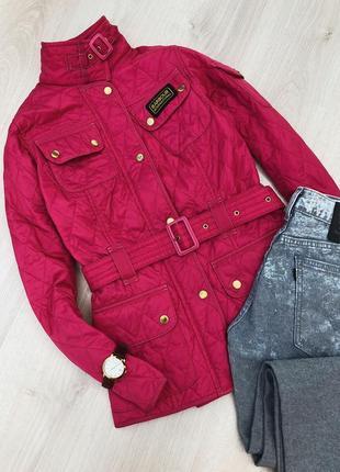 Оригинальная стеганая куртка barbour international