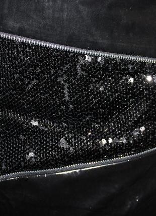 Модная лаковая юбка с паетками3
