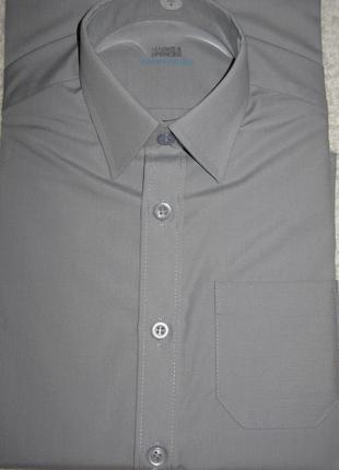 Рубашки школьные marks&spencer серые 6, 7, 8, 9,10 лет
