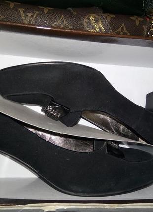 Туфли натуральный велюр