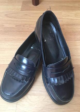 Туфли школьные для девочки 34 размер