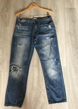 Отличные boyfriend джинсы gloria jeans