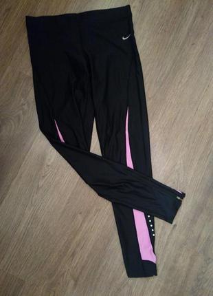 Nike спортивные лосины леггинсы размер м