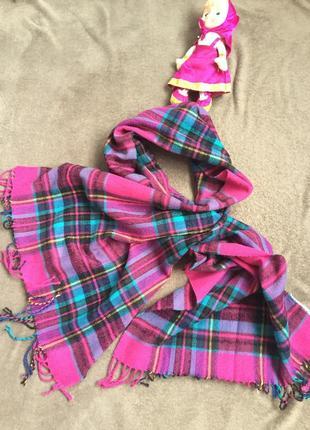 Классный большой шарф 100% акрил
