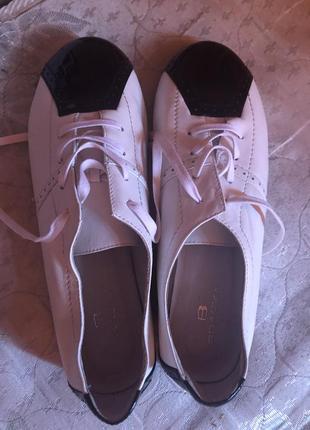 Sale всех вещей! braska кожаные туфли 38 р