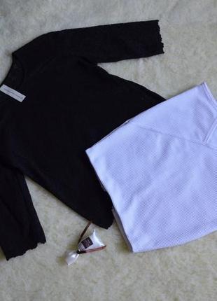 Блуза в рюшах от next