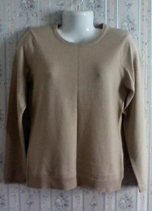 Шерстяной свитерок, разм. 46