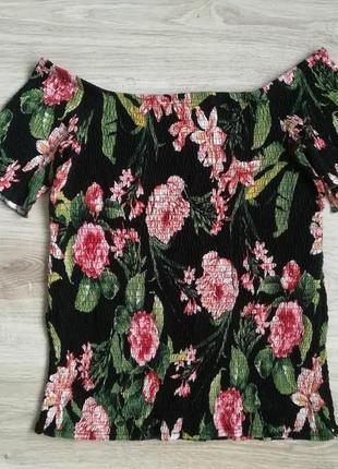 Шикарная цветочная блуза!