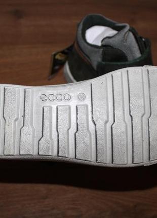 Кожаные ботиночки с мембраной gore-tex ecco glyder, 32 размер 21 см4