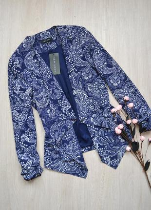 Крутой асимметричный жакет пиджак new look new