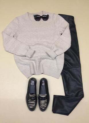 Тёплый уютный шерстяной свитер maddison
