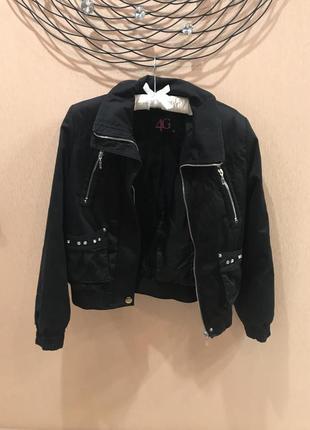 Куртка черная дутик 4g размер 40