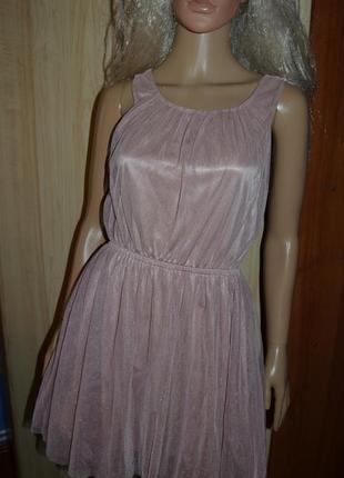Нарядное фатиновое платье h&m 10 размер