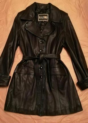 Кожаное пальто, куртка, курточка, balmond