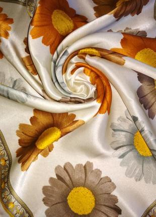 Милый шейный платок, аксессуар для сумочки из натурального шелка,шов роуль.