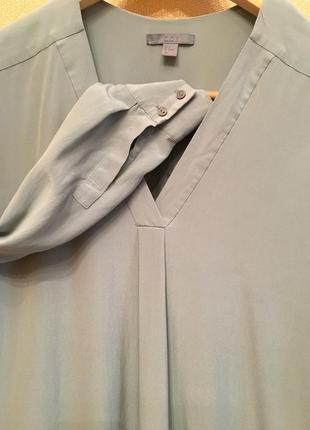 Шелковая рубашка от cos