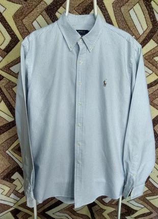 Рубашка ralph lauren с новых коллекций в полоску