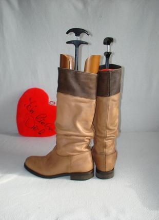 Сапоги кожаные итальянские бренд lavorazione artigianale
