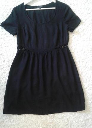 Платье с вырезами по бокам
