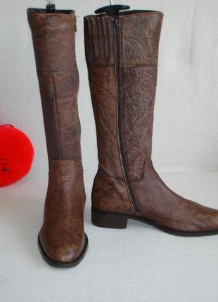 Сапоги кожаные индийские бренд mexx