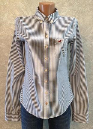 Рубашка в полоску hollister