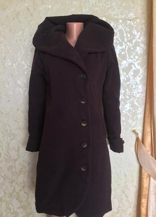 Очень крутое эксклюзивное кашемировое пальто