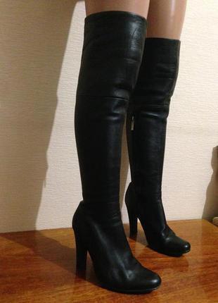 Крутейшие кожаные ботфорты итальянского бренда мedea