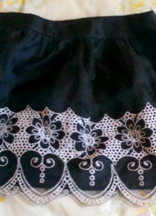 Очень красивая и оригинальная юбка