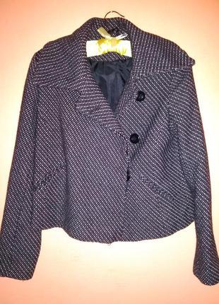 New look стильное укороченное пальто///