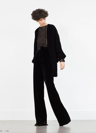 Fi more брюки классические широкие///