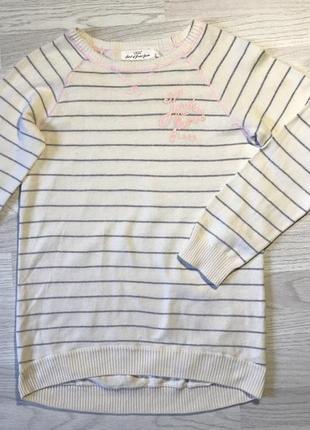 Хлопковый женский свитер