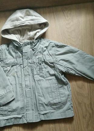 Куртка ветровка двойная george