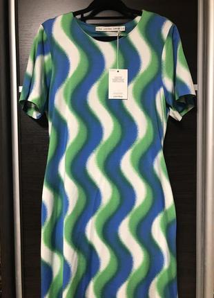 Платье & other stories яркое футболка s m l h&m