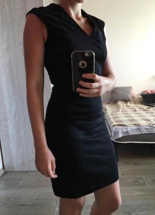 Платье футляр mango xs