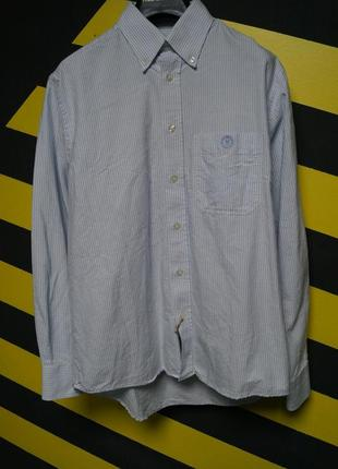 Рубашка в вертикальную полоску classic fit henry lloyd
