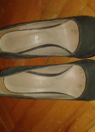 Туфлі 37 розмір замша в середині шкіра