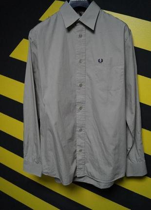 Винтажная рубашка fred perry