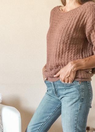 Красивая и стильная кофта свитер фирмы benetton размер s