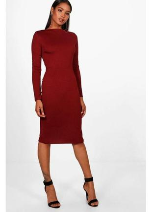 Платье миди boohoo
