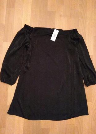 Шикарное короткое платье/туника, размер 14
