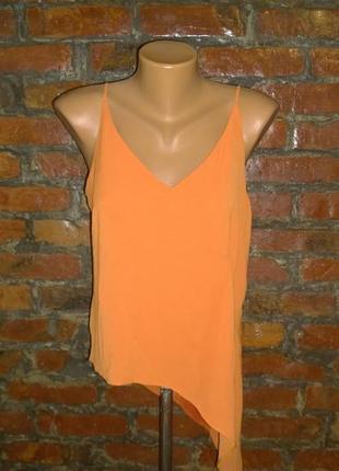 Ассиметричный топ блуза кофточка майка atmosphere