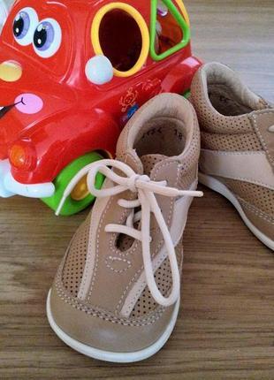 Ортопедические кожаные туфли для самых маленьких мужчин италия