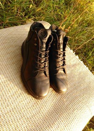 Ботинки ecco soft,размер 38-й...2