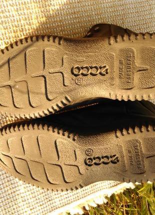 Ботинки ecco soft,размер 38-й...5