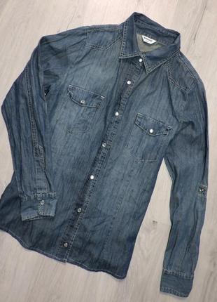 Джинсовая рубашка (1+1=3)