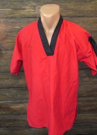 Кимоно добок, 3-160, poly-cotton, south east, красная, как новая!