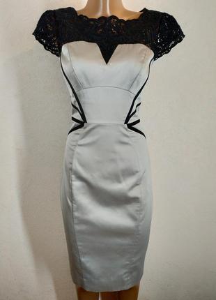 Брендовое элегантное платье миди