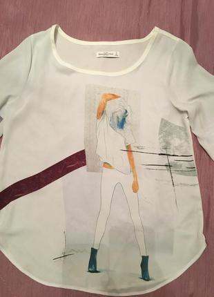 Стильная блуза abercrombie fitch