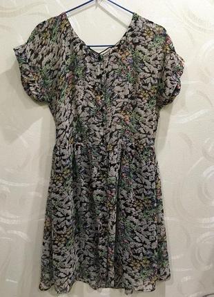 Модное платье в стиле zara р-р. s-m